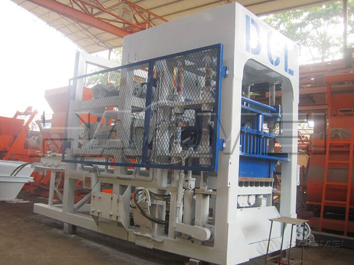 Automatic Concrete Block Making Machine to Zambia