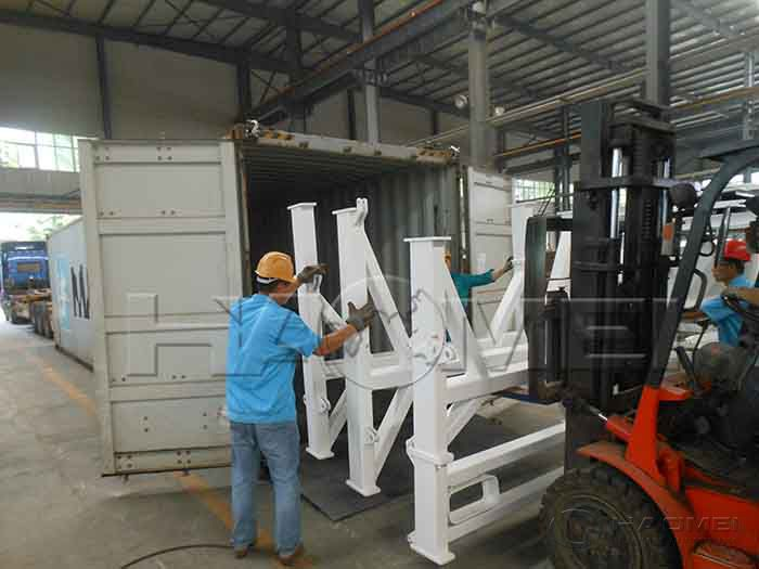 YHZS75 Portable Batch Plant to Somalia