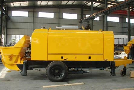 Trailer Concrete Pump, Concrete Trailer, Trailer Concrete Pump For Sale