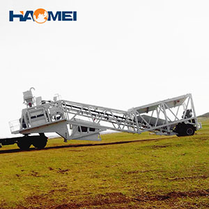 YHZS 60 Mobile Mixing Plant to Philippines